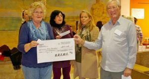 Age Concern donation by AREME