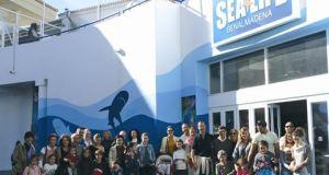 Cudeca volunteers at Sea Life Benalmadena