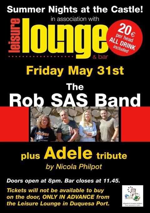 Rob SAS Band at the Castle