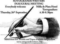 Sotogrande Writers poster