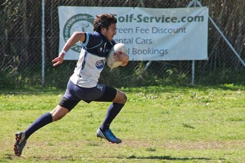 U18 Enrique Bajo break away try