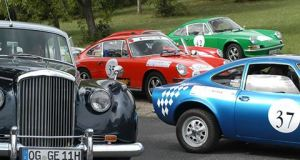 Classicc Car Rally in Marbella