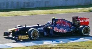 F! testing in Jerez