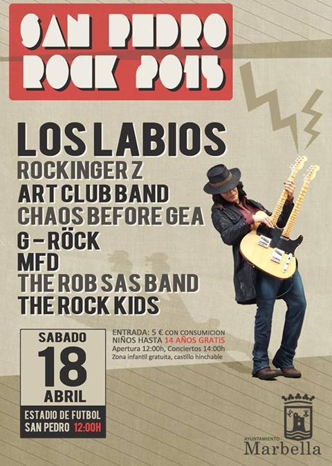 San Pedro Rock 2015 Poster
