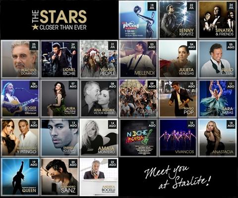 Starlite lineup 2015