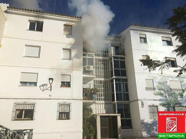 Fire in Estepona