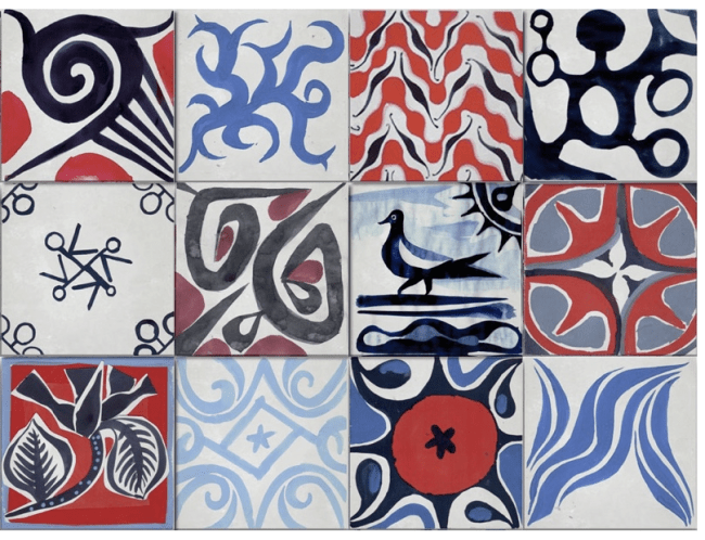 loving cle cement tiles there s no place like home