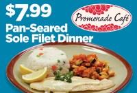 Dinner Special at Promenade Cafe at Rampart Casino