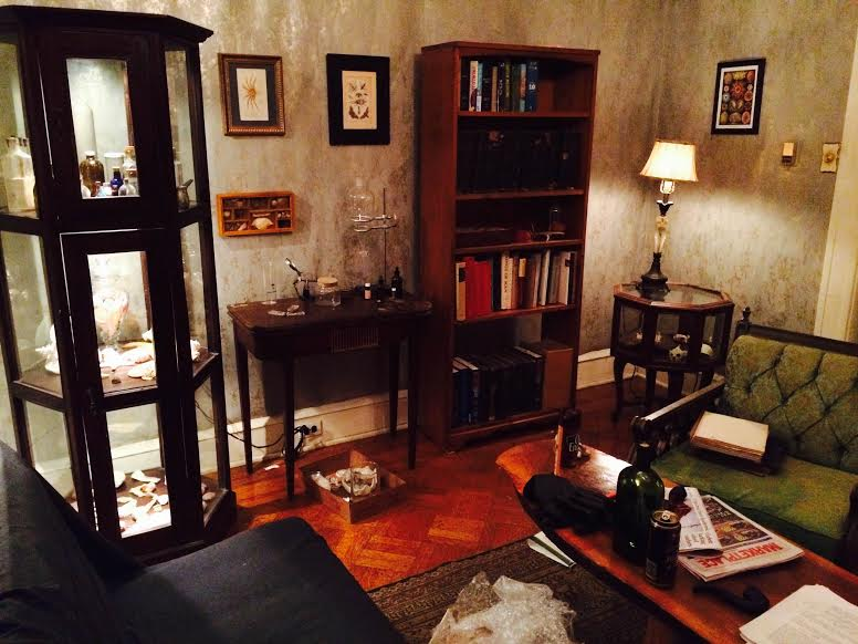 "Film ""City of Shells"" finds set dec in the Random Room!"