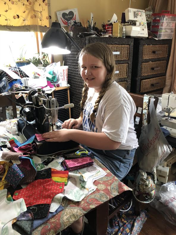 """Read more about the article """"Days for Girls"""" Langhorne PA Team Uses Reclaimed Fabric to Create Hygiene Kits for Girls"""