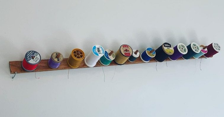 Read more about the article Creative Reuse: DIY Thread Holder