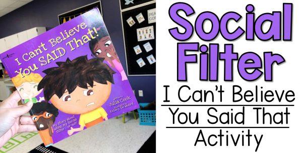 social filter lesson