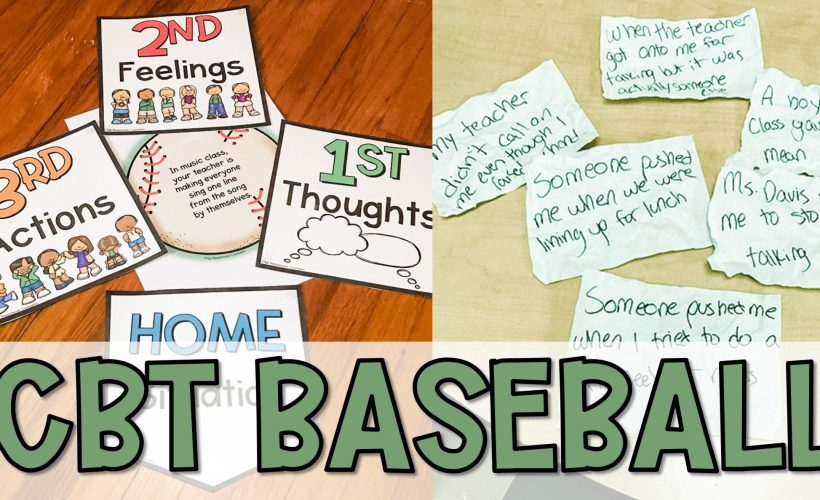 CBT Baseball: A Cognitive Behavioral Game for Kids