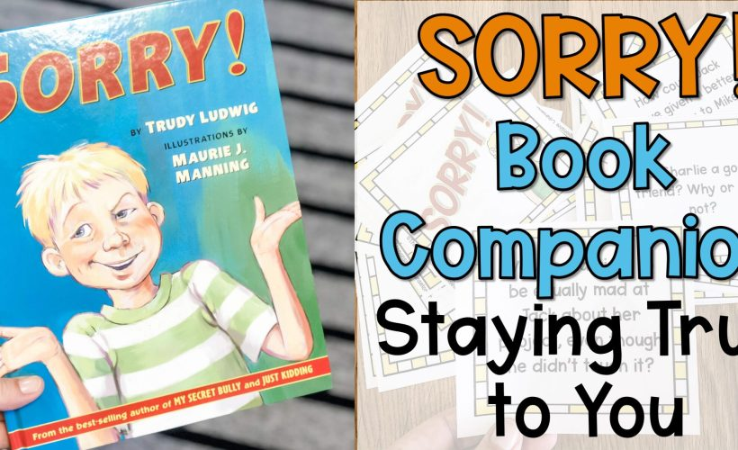 Sorry! Book Companion on Peer Pressure and Staying True to You