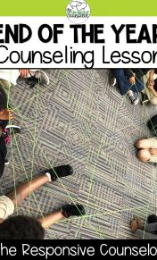 end of the year counseling lesson