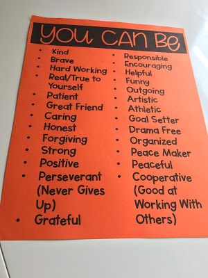 School counseling lesson plan Be a Leader and a list of leader traits