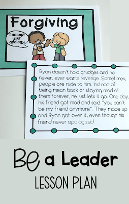 BE a Leader – Lesson Plan
