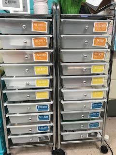 ikea storage carts
