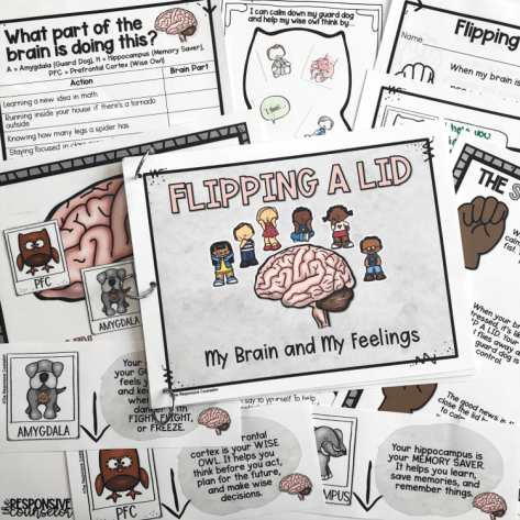 flipping a lid activity