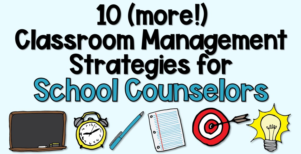 Classroom strategies with cute clip art