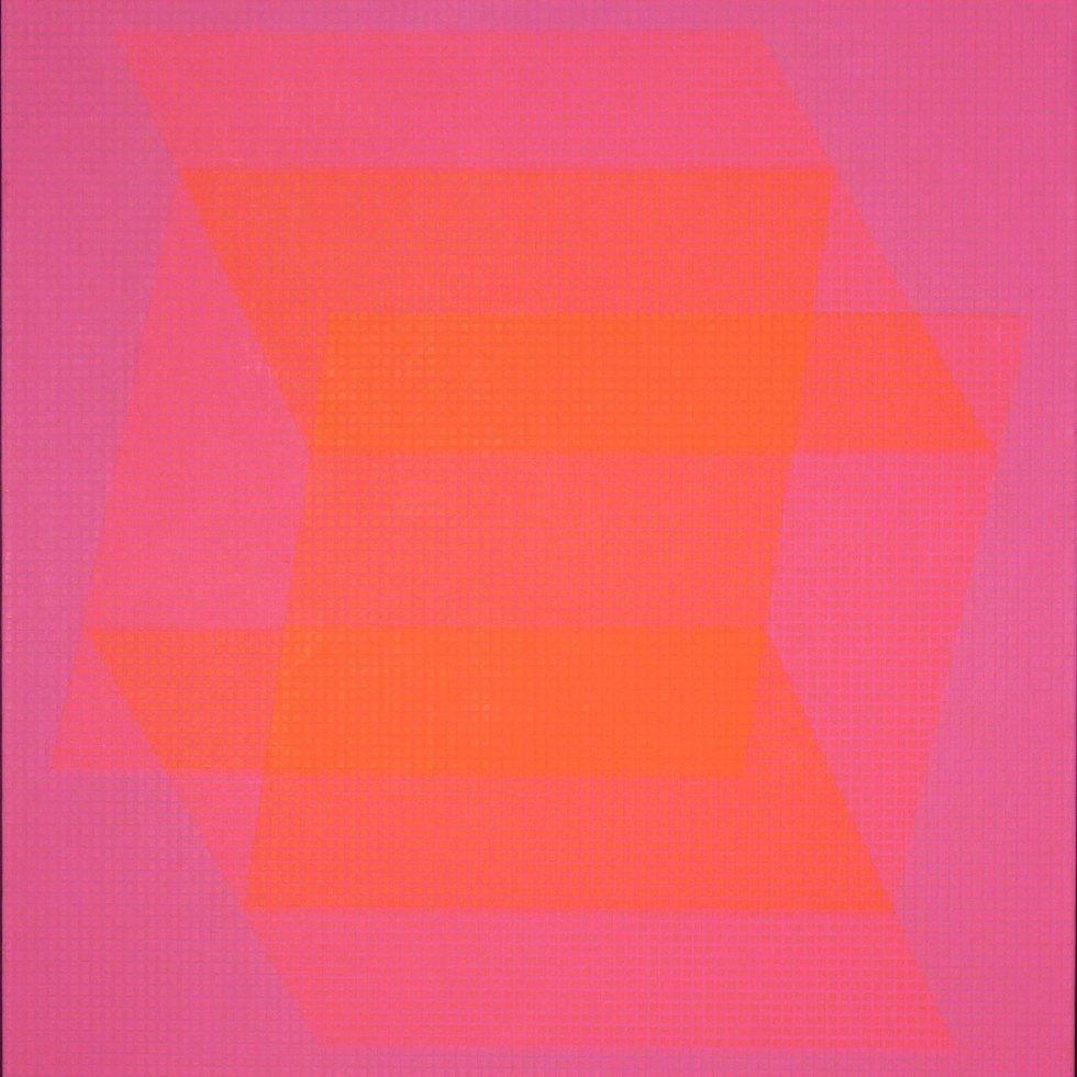 Julian-Stanczak-Translucent-Orange-1968