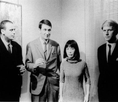 Günther Uecker, Otto Piene, Yayoi Kusama, Heinz Mack