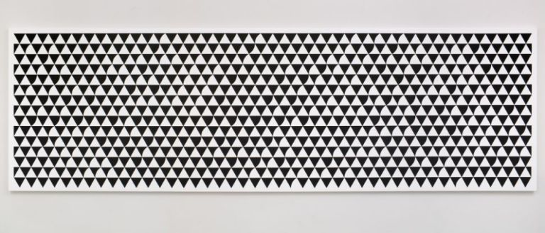 Bridget Riley, 'Cascando', 2015, acrylic on APF polyester support, 150 x 450 cm.