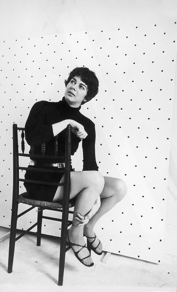 Portrait of Bridget Riley on July 13th 1967. Photo: Keystone-France/Gamma-Keystone via Getty Images.