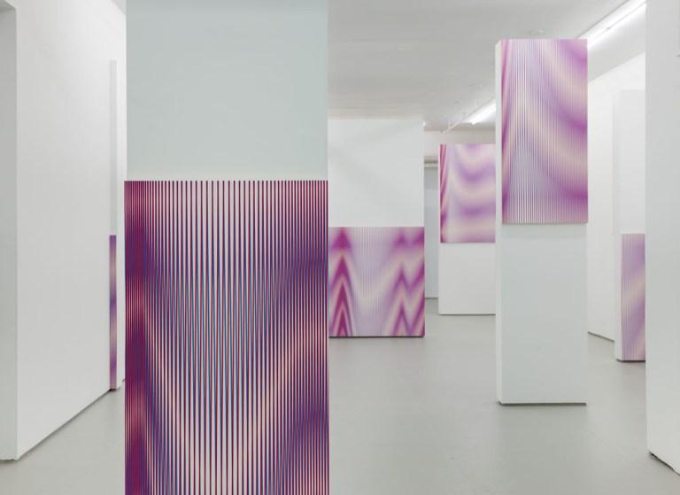 Philippe Decrauzat, 'Pour Tout Diviser',Installation view,  at Elizabeth Dee, New York, September 13 – October 29, 2014.Photo: Etienne Frossard. © Philippe Decrauzat.