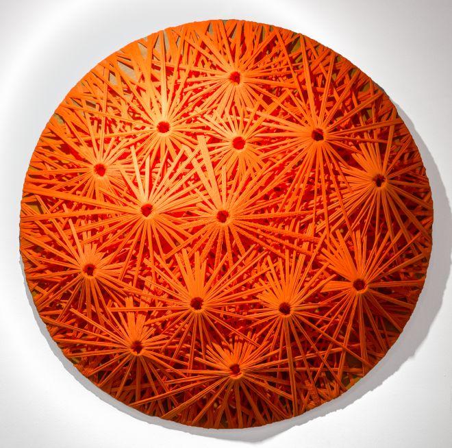Emilio Cavallini Orange – Linear Fractal 2010