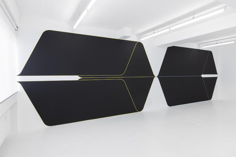 24.02.2014, Showroom Sammlung Philara Duesseldorf, Kuenstler Terry Haggerty, Sliding mode control, Zeitraum Ausstellung 22.02.2014 – 23.03.2014