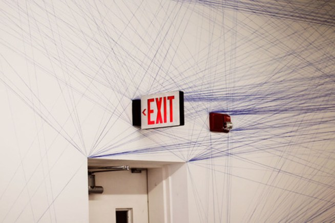 Sol LeWitt wall drawing 51