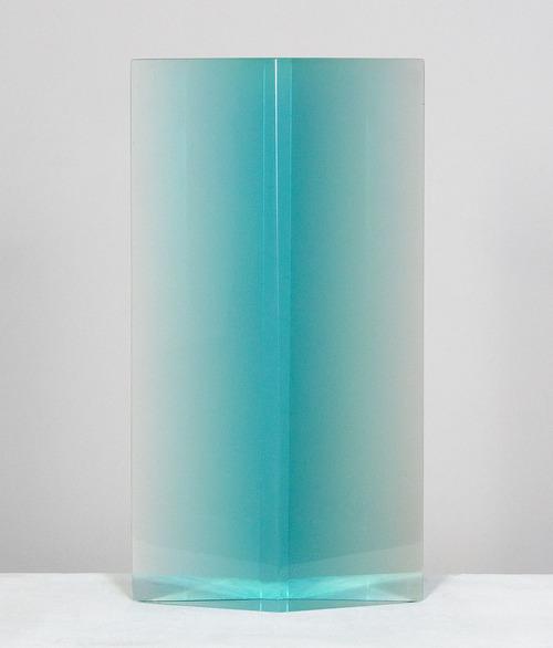 DeWain Valentine - Diamond Column, Blue (1978)