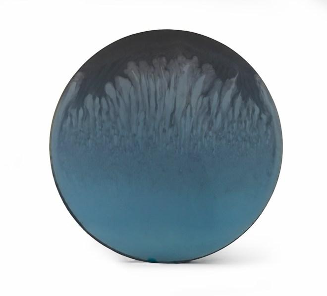 De Wain Valentine, Circle Blue Smoke Flow, 1970