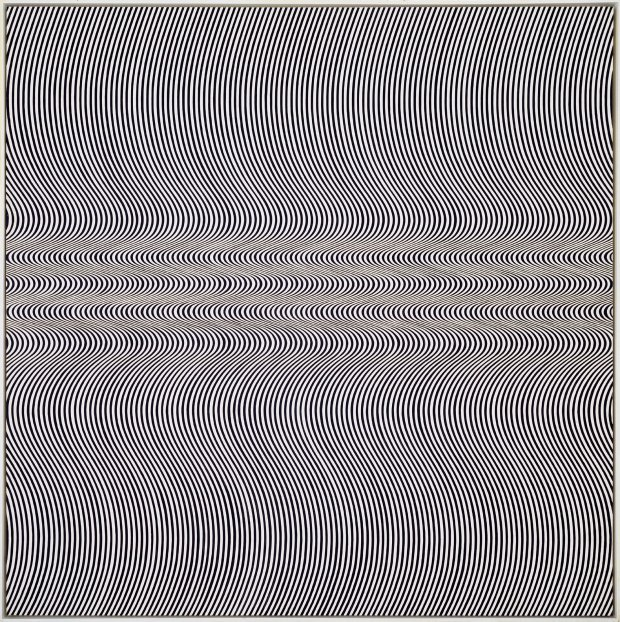"Bridget Riley, ""Current"", 1964,"