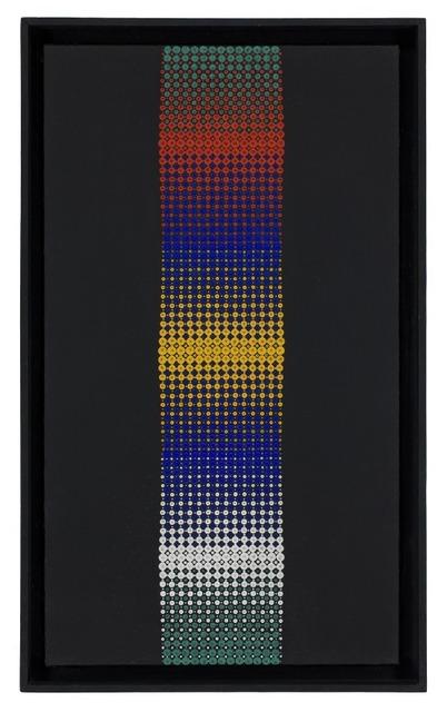 "ALMIR MAVIGNIER, ""Konvex rot-gelb-weiss"", 1967"