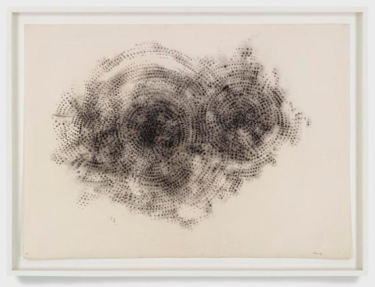 """Otto Piene """"Untitled (Raster-Rauchzeichnung)"""", 1959"""