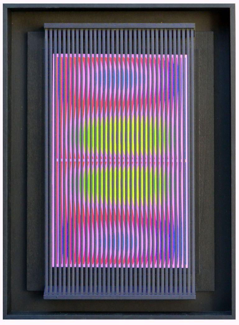 8-Ballo del chupa chupa 1, 2010, PVC, acrylic and paper on panel, 52 x 36 cm. - 20.4 x 14.2 in.