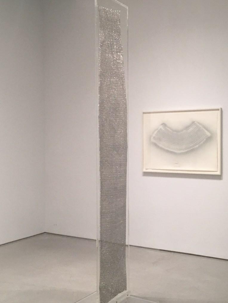 """Heinz Mack """" Paravent für Licht"""", 1964, aluminum, plexiglas, 116 X 21 7/8 X 7/8 in."""