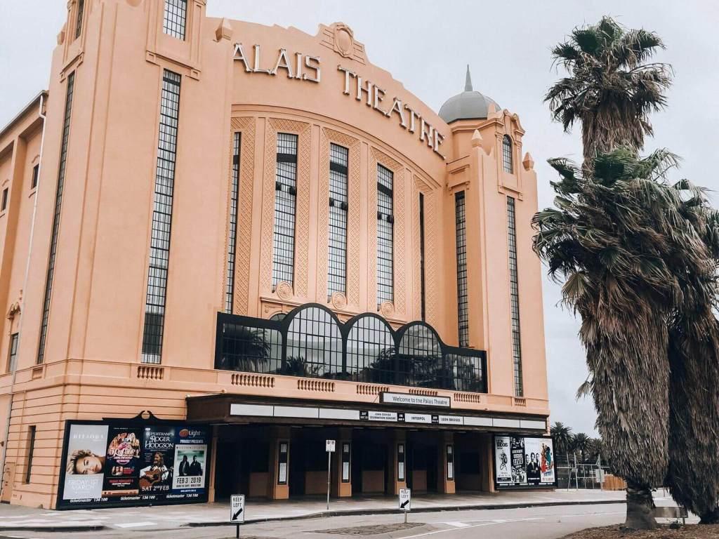 The Palais theatre, St. Kilda, Melbourne