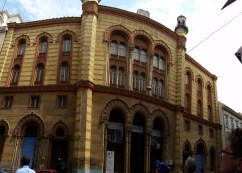 One of the 3 active synagogues in Budapest