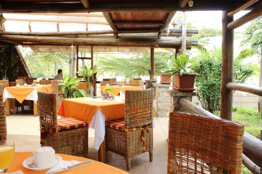 Breakfast on Lake Tanganyika