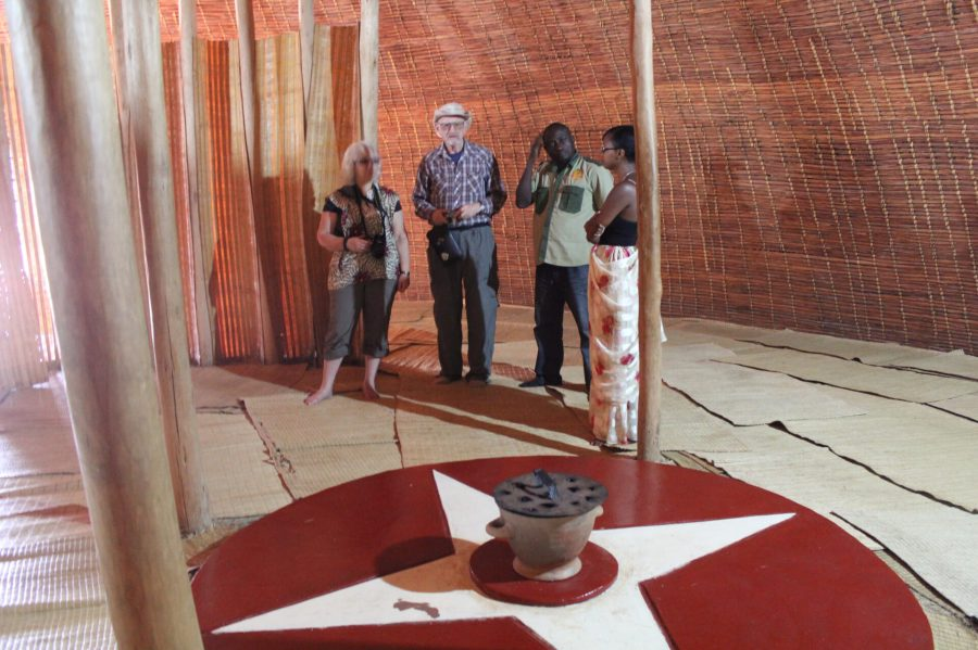 Entry Way in Rwanda Hut