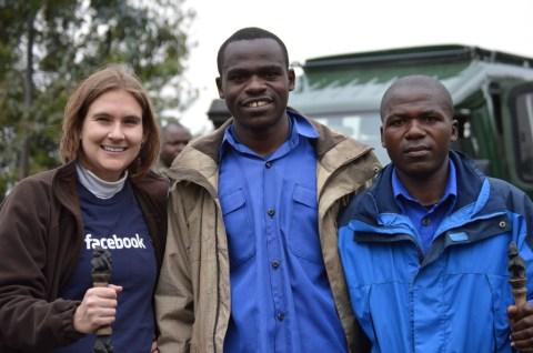 At Rehengeri, Rwanda