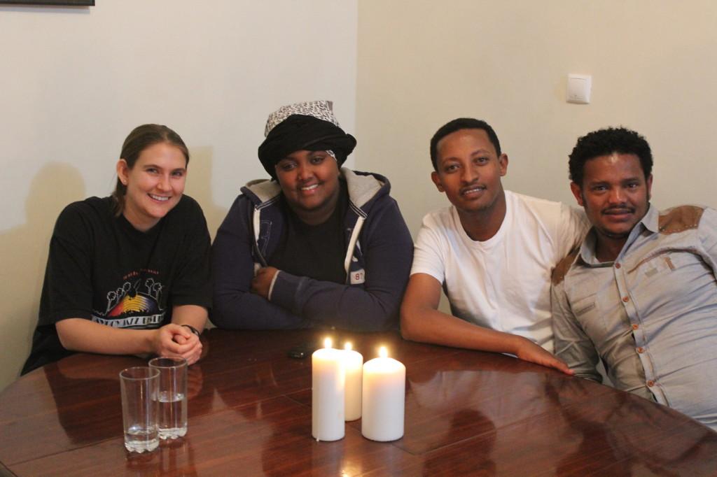 New friends in Addis