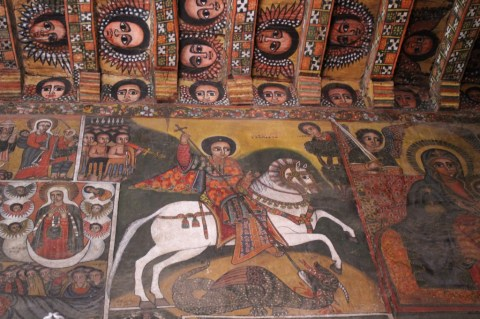 Debre Birhan Selassie Church in Gondar
