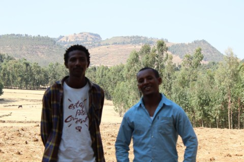 New friends in Gondar
