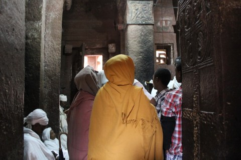 Inside the Northern Churches in Lalibela