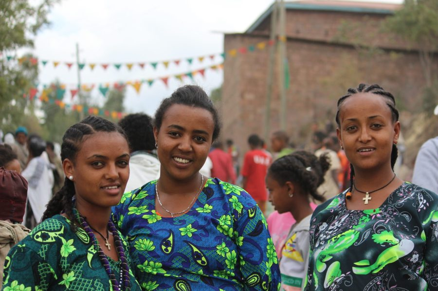 Girls in the Lalibela Market