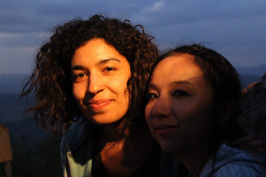 Salma and Connie